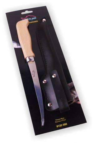 Profi - Filetiermesser mit Holzgriff Anglermesser Westline