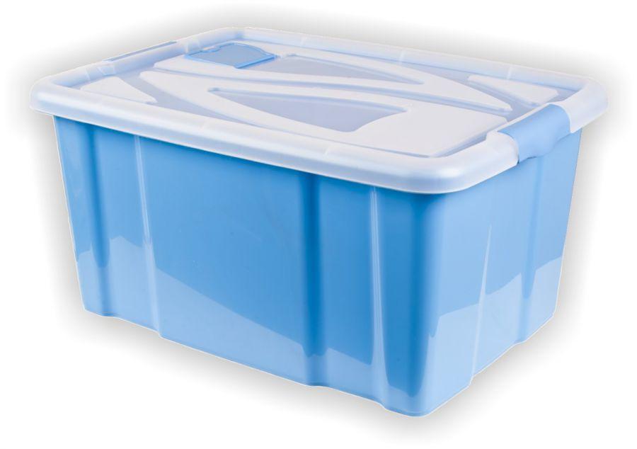 Neu Aufbewahrungsbox mit Deckel 29x62x45 cm 55 L - RS Warenhandelsges. mbH HR04