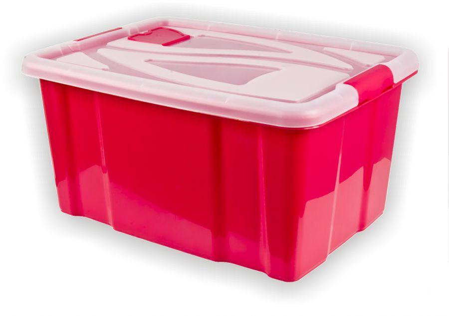 Super Aufbewahrungsbox mit Deckel 29x62x45 cm 55 L - RS Warenhandelsges. mbH XG93