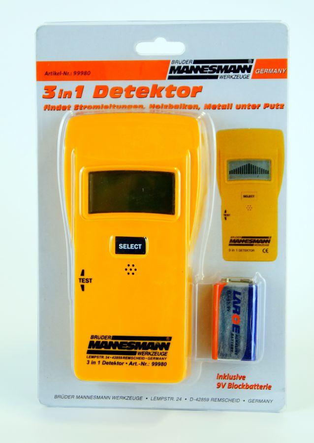3in1 detektor mannesmann balkenfinder leitungsfinder. Black Bedroom Furniture Sets. Home Design Ideas