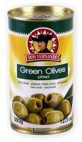 Grüne Oliven entsteint 350g