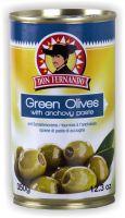 Grüne Oliven mit Sardellencreme 350g Entsteint