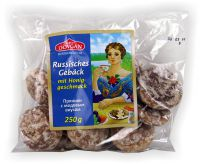 Russisches Gebäck mit Honiggeschmack 250g Prjaniki (GP:0,36¤/100g)