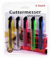 Cuttermesser Set 5 Stück