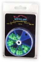 Fluoperlen-Sortiment 3-7mm 127 Stück Westline