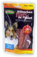 Hähnchenfilets für Hunde 3% Fett 100g Bubimex