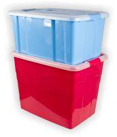 Aufbewahrungsbox mit Rädern 80 Liter