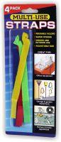 Kabelklettband 8 Stück farbig