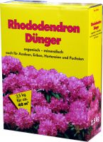 Rhododendrondünger 4x 2,5 kg 10kg
