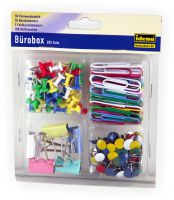 Bürobox 205 Teile - Idena
