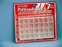 Pillendose für 7 Tage
