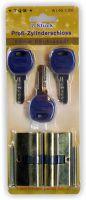 Profilzylinderschloß 2 Schlösser 6 Schlüssel