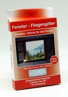 Fenster Fliegengitter 130x150cm weiß