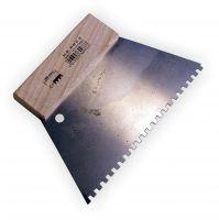 Flächenspachtel Stahl 18cm , eckig C1
