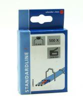 Kabel-Tackerklammern 4mm 500tlg