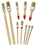 10-tlg. Pinsel-Set Flach und Rundpinsel