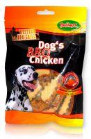 Hähnchen mit Grillaroma Dogs BBQ Chicken      70 g