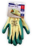 Arbeitshandschuhe Super Grip Grün Gelb