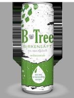 B-Tree Birkensaft mit Kohlensäure und Minzgeschmack 250 ml (EINWEG)
