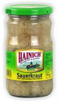 Hainich Sauerkraut 370ml Glas (GP:2,14¤/l)