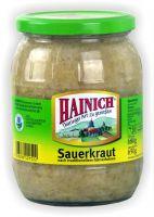Hainich Sauerkraut 720ml Glas (GP:1,23¤/l)
