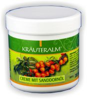 Kräuteralm Creme mit Sanddornöl 250ml